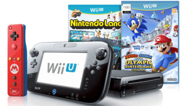 Mario and Sonic Winter Olympics Wii U Bundle