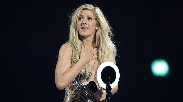 Ellie Goulding makes her Brit Awards acceptance speech