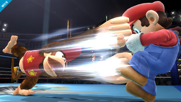Diddy Kong joins the Super Smash Bros cast of playable fighters.