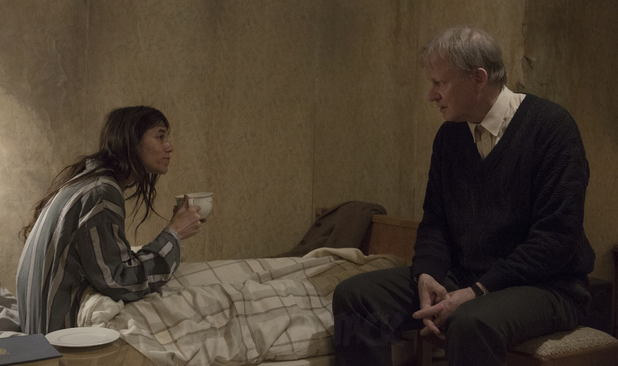 Charlotte Gainsbourg and Stellan Skarsgård in Nymphomaniac