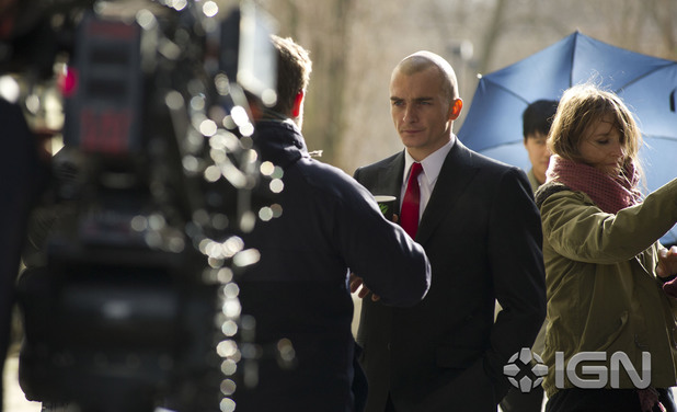 First look at Rupert Friend in Agent 47