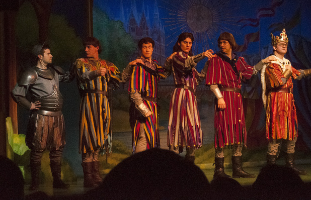 Tom makes his West End debut in Spamalot!