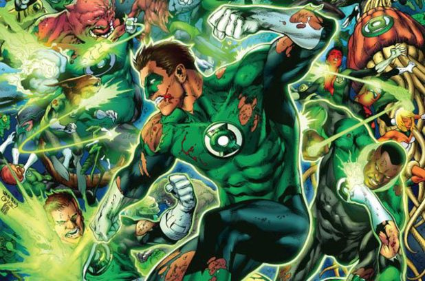 Hal Jordan aka the Green Lantern