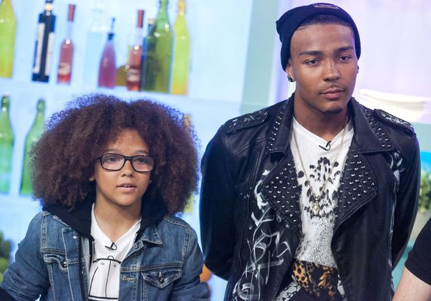 Perri Kiely and Jordan Banjo