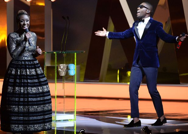 Laura Mvula and Tinie Tempah perform at the BAFTAs