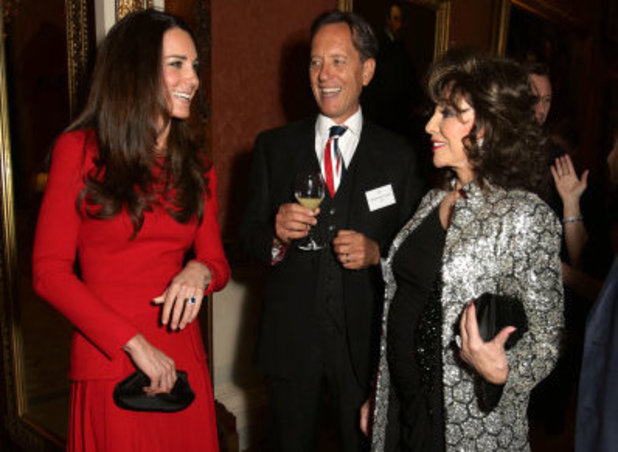 Kate Middleton, Richard E Grant, Joan Collins