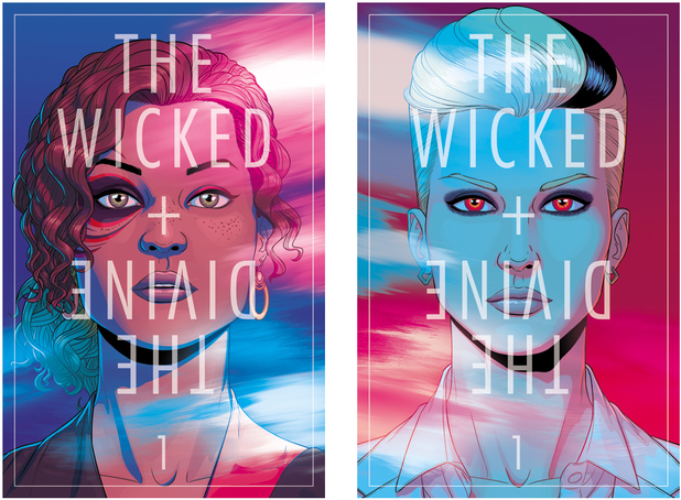 Limited edition The Wicked & the Divine prints