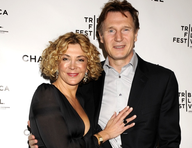 Liam Neeson and his late wife Natasha RIchardson