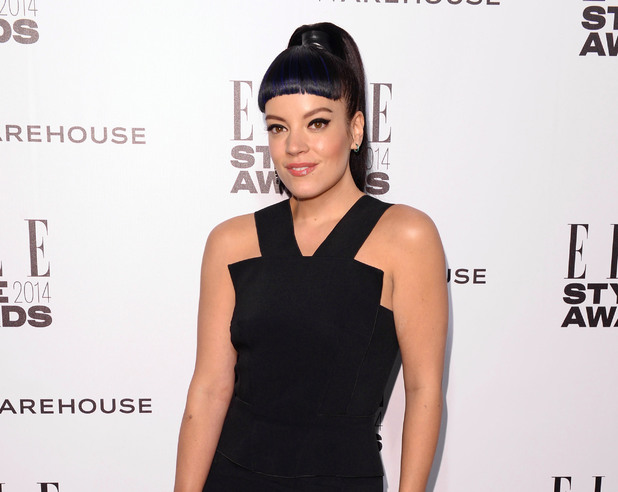 Elle Style Awards, London, Britain - 18 Feb 2014 Lily Allen