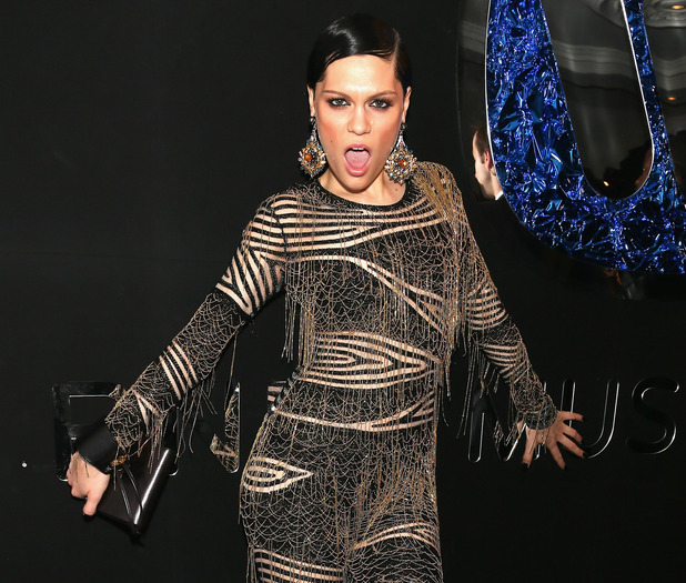 Jessie J at the Warner Music Group And Belvedere Brit Awards After Party at The Savoy Hotel