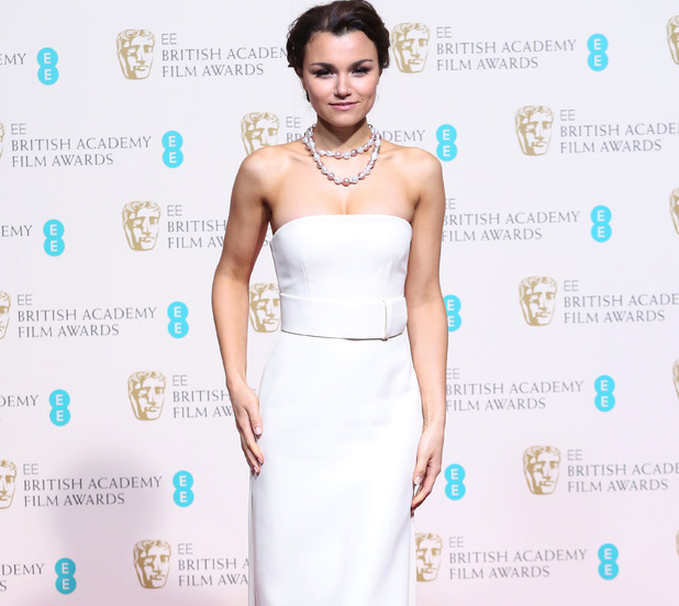 Samantha Barks at the BAFTA Awards 2014