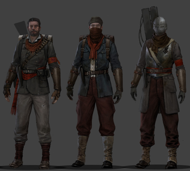 Concept art of The Order: 1886 on PS4