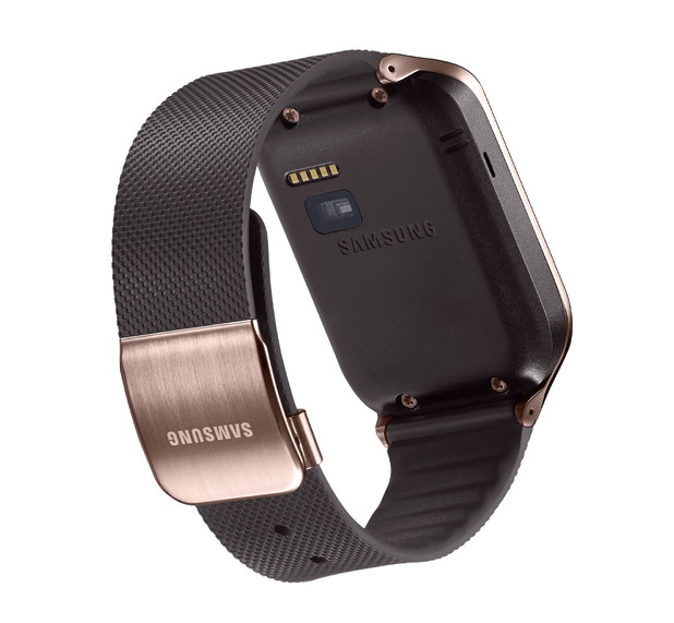 Samsung Galaxy Gear 2 in gold