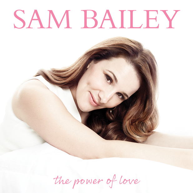 Sam Bailey 'The Power Of Love' album artwork.