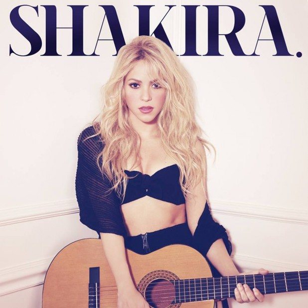 Shakira 'Shakira' album artwork.