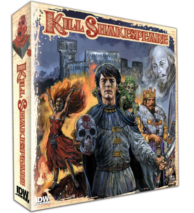 Kill Shakespeare: The Board Game