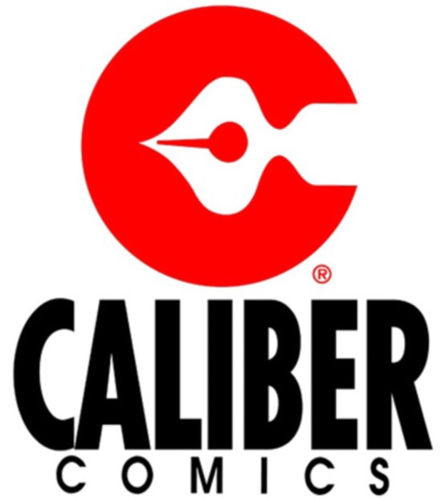 Caliber Comics logo