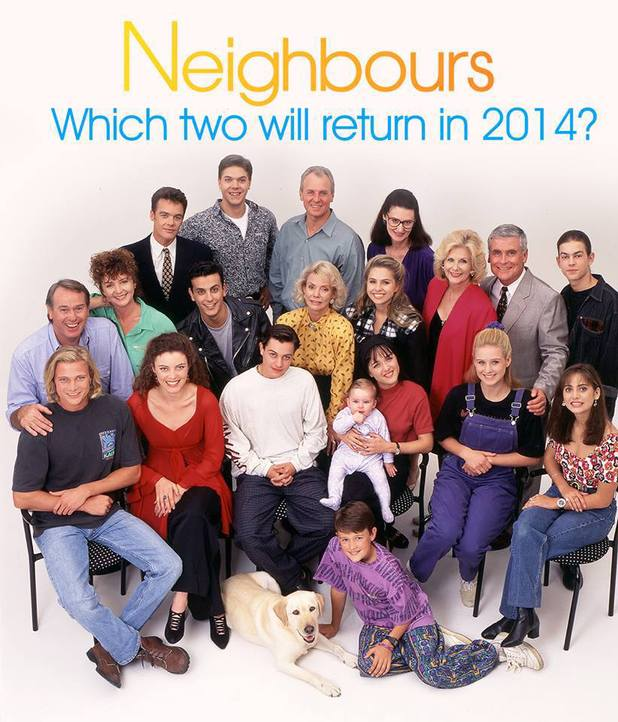 Neighbours cast photo with possible returnees