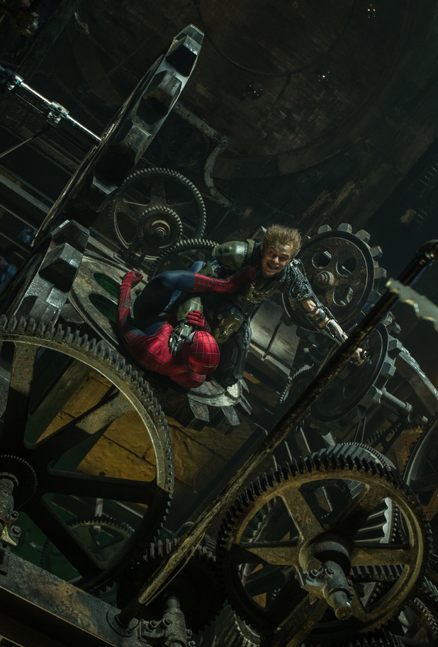 Dane DeHaan as the Green Goblin in The Amazing Spider Man 2