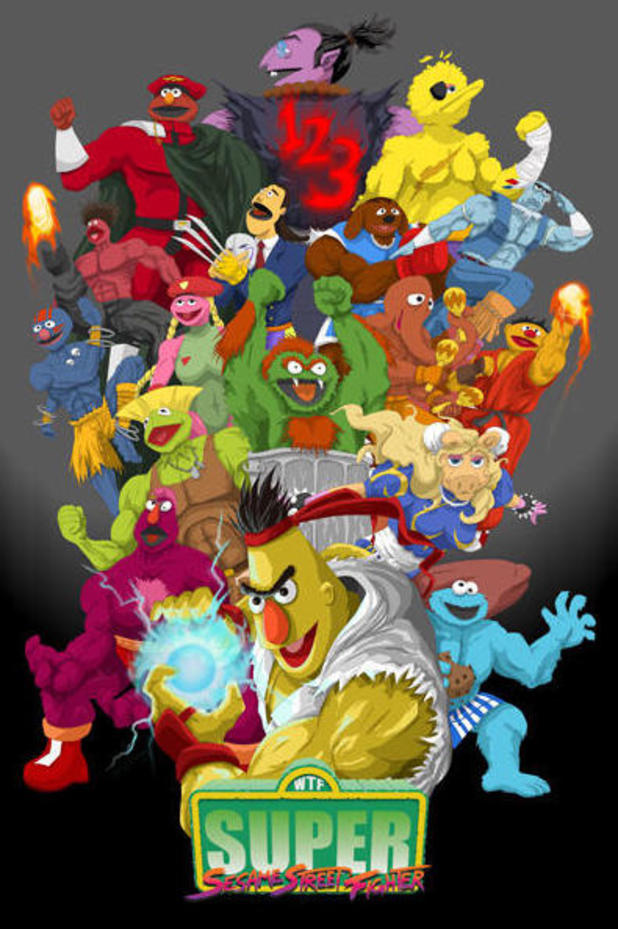 Super Sesame Street Fighter