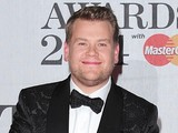 James Corden arriving for the 2014 Brit Awards at the O2 Arena, London.