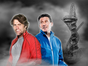John Bishop and Sebastian Coe will lead celebrity teams at the Olympic park.