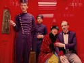 Wes Anderson's latest climbs to the UK chart summit in its fourth weekend on release.
