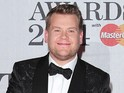 Corden goes shoeless to support Elton John's Dolce & Gabbana boycott.