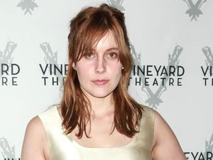 Vineyard Theatre Gala, New York, America Greta Gerwig