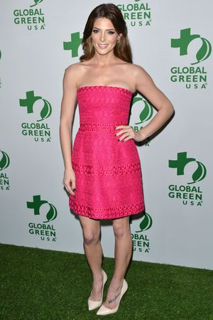 Global Green Oscar kick off party, Los Angeles, America - 26 Feb 2014 Ashley Greene