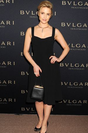 Bulgari Decades of Glamour Pre-Oscar Party, Los Angeles, America - 25 Feb 2014 Dianna Agron