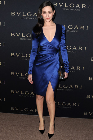 Bulgari Decades of Glamour Pre-Oscar Party, Los Angeles, America - 25 Feb 2014 Emmy Rossum