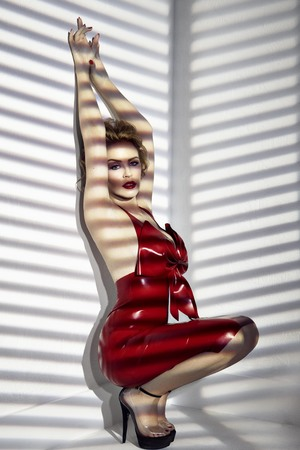 Kylie Minogue 'Kiss Me Once' press shot.