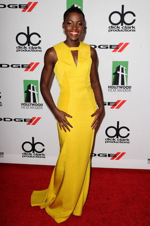 Hollywood Film Awards, Los Angeles, America - 21 Oct 2013 Lupita Nyong'o