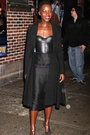Lupita Nyong'o 'Late Show with David Letterman', New York, America - 19 Feb 2014