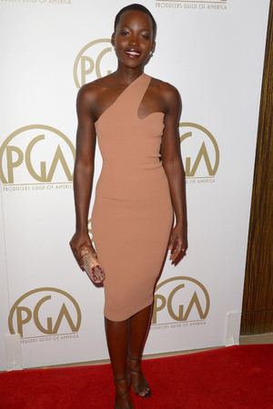 The 25th Annual PGA Awards at The Beverly Hilton, Los Angeles, America - 19 Jan 2014 Lupita Nyong'o