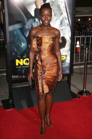 'Non-Stop' film premiere, Los Angeles, America - 24 Feb 2014 Lupita Nyong'o