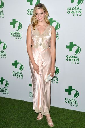 Global Green Oscar kick off party, Los Angeles, America - 26 Feb 2014 Maggie Grace