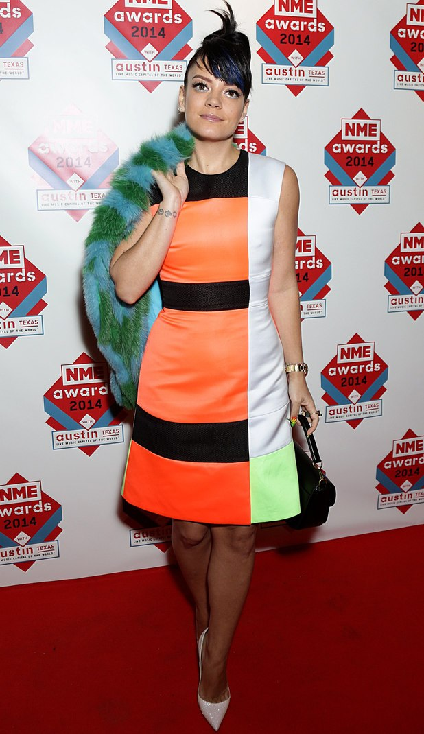 NME Awards: Lily Allen
