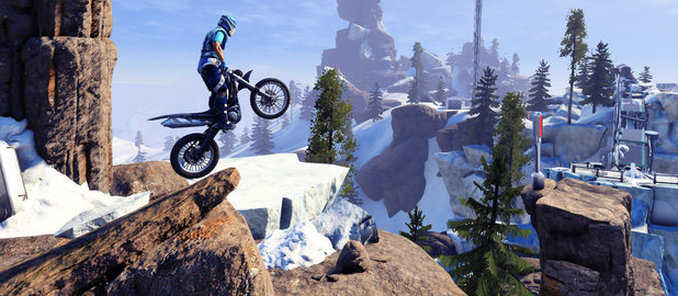 Bike Tricks Game Trials Fusion rides sees the