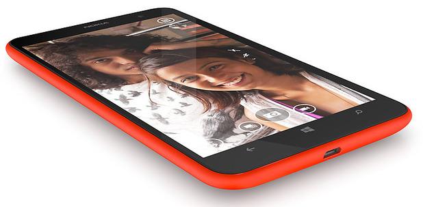 The Nokia Lumia 1320 smartphone