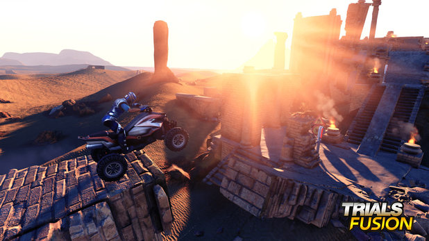 Trials Fusion rides sees the motorcycle platforming series ride on PC, current and next-gen consoles
