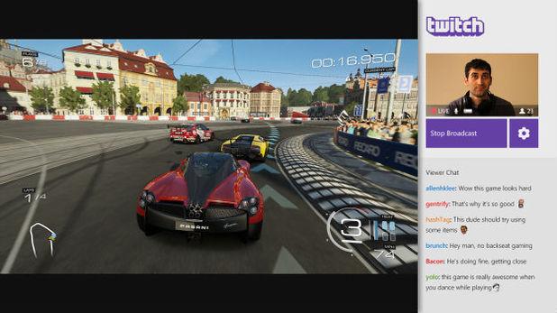 Twitch streaming on Xbox One