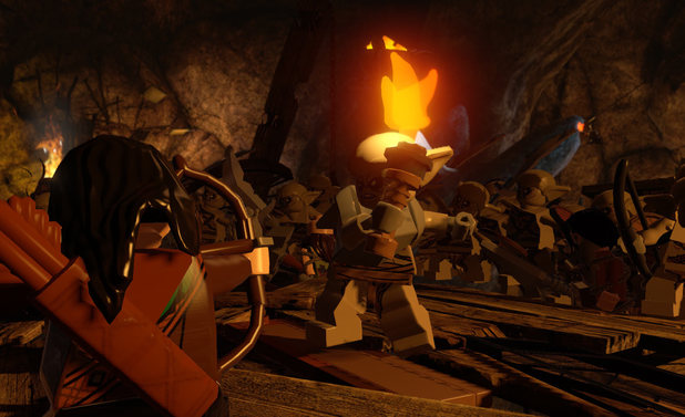 LEGO The Hobbit covers the action from the first two films