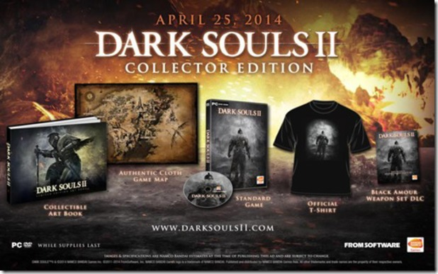 Dark Souls 2 collector edition