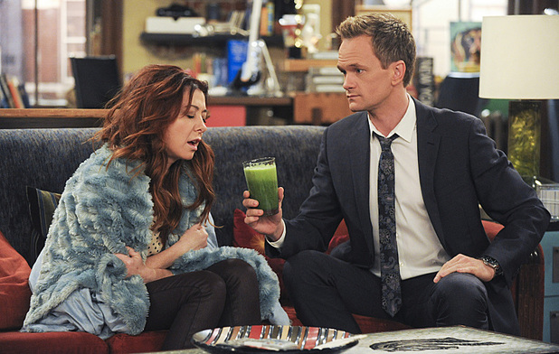 Alyson Hannigan as Lily & Neil Patrick Harris as Barney in How I Met Your Mother: 'Rally'