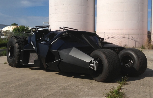 The James Edition Batmobile replica