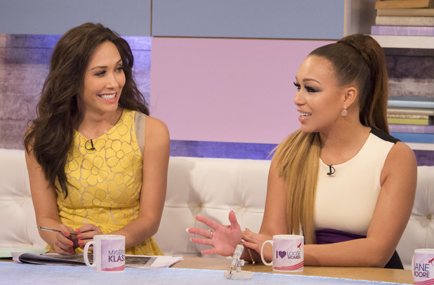 Rebecca Ferguson and Myleene Klass  on Loose Women