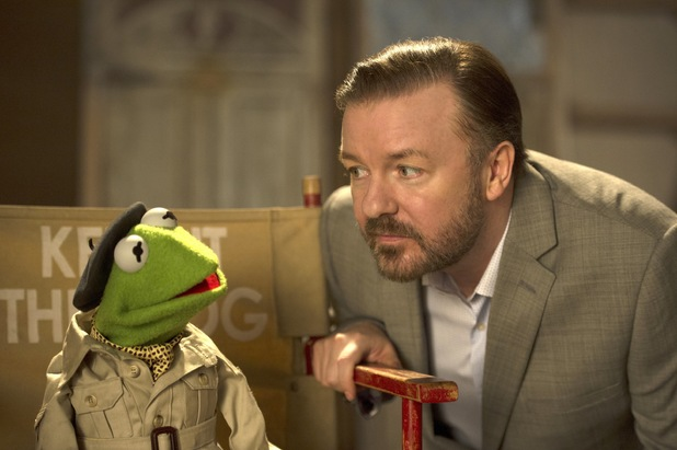 Muppets Most Wanted, Ricky Gervais