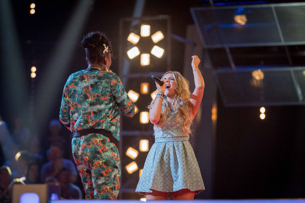 Celestine and Mairead Conlon battle on The Voice